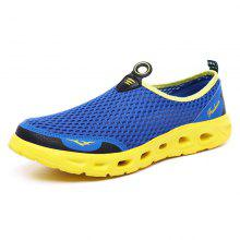 4671f8acb89f 65% OFF ZEACAVA Men s Large Size Outdoor Breathable Mesh Shoes