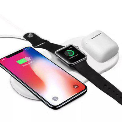 3 In 1 Qi Wireless Charger Holder for Airpod 2 iPhone iWatch