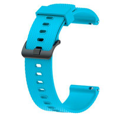 20MM Silicone Watch Band Wrist Strap for For Garmin Fenix 5S / 5S Plus