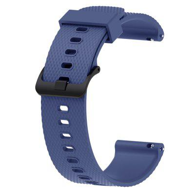 20MM Silicone Watch Band Wrist Strap for For Samsung Gear S2 Classic/Gear Sport