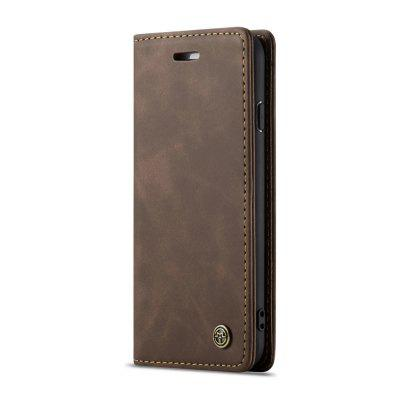 CaseMe Business PU Leather Flip Wallet Phone Cases Card Slots for iPhone 7 / 8
