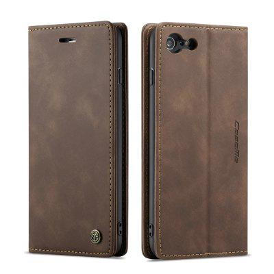 CaseMe Retro Wallet Phone Case Card Slot com suporte para iPhone 6 Plus / 6S Plus