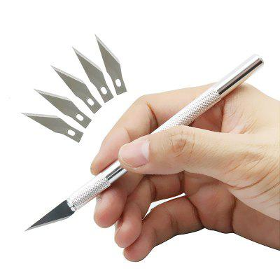 Professional Stainless Steel Precision Carving Knife Hobby Razor Tool
