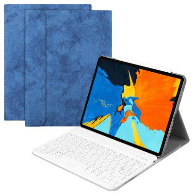 Etui de Clavier Bluetooth Intelligent de Couchage pour iPad Pro 11 (2018 Edition)