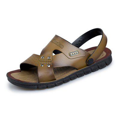 Fashion Beach Slip Resistant Wearable Men'S Sandals and Slippers