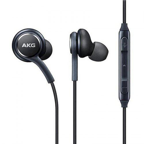 AKG 3.5mm Earphones Stereo Earbuds for Samsung Galaxy S10 / S9 / S8 / S8 Plus - Black