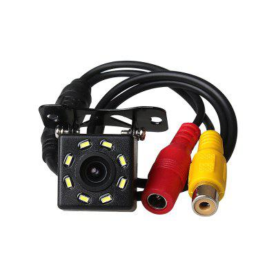ZIQIAO 8 LED Lights Night Vision Waterproof Car Rear View Backup Camera