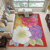 3D Red Print Super Soft Carpet for Living Room and Bedroom - ROSSO RED