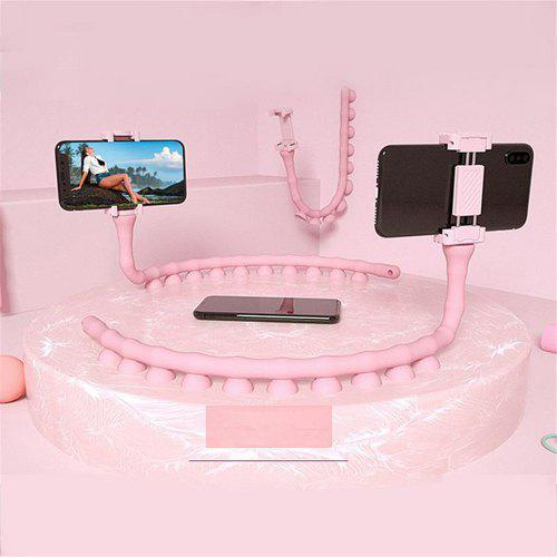 360 Degree Flexible Cute Worm Lazy Mobile Cell Phone Holder Bed Desktop  Stand