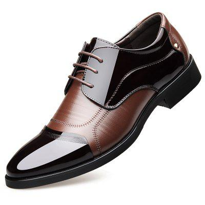 Men'S Pointed Casual Soft Bottom Business Dress Shoes