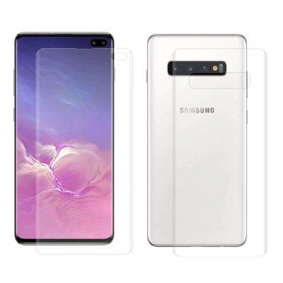 New Protective Front + Back Screen Protectors for Samsung Galaxy S10 Plus