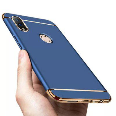 3 in 1 Plating Frame Splicing PC Hard Protective Case for Huawei Honor 8X