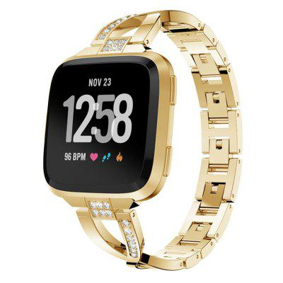 Jewelry Design Stainless Steel Watch Band For Fitbit Versa