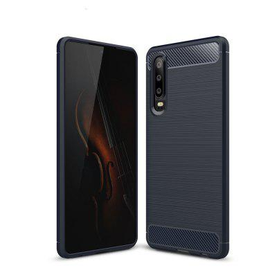 Carbon Fiber Brushed Mobile Phone Case for Huawei P30