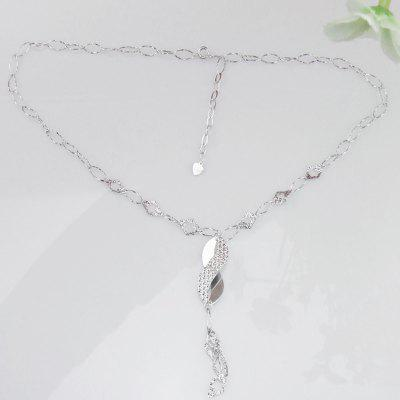 925 Sterling Silver Pendant Necklace Plated Jewelry for Decoration