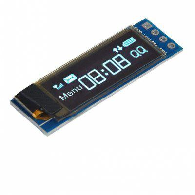0.91 inch I2C Blue OLED LCD Display