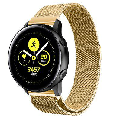 Milanese Loop Stainless Steel Watch Band Strap voor Samsung Galaxy Watch Active