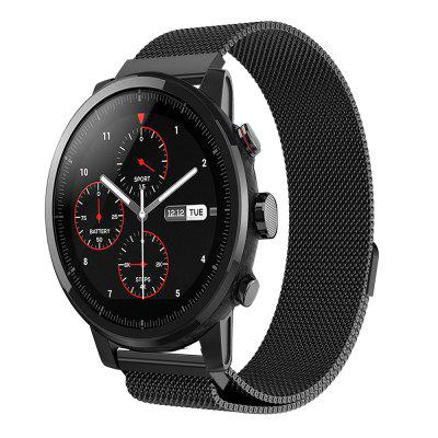 Milanese Loop Stainless Steel Watch Band Strap for AMAZFIT Stratos 2 / 2S