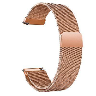 Milanese Loop Stainless Steel Watch Band Wrist Strap For Pebble Time Steel