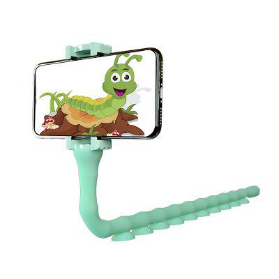 360 Degrees Rotation Flexible Cute Worm Lazy Mobile Cell Phone Holder
