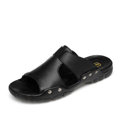 Fresh Summer Men Slippers Leisure Outdoor