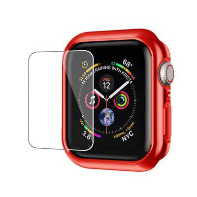 Bumper TPU Case Cover + Screen Protector Film For iWatch Series 3 42mm