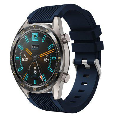 22MM Silicone Watch Band Wrist Strap For Huawei Watch GT / Magic Bracelet