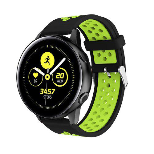 20MM Silicone Watch Band Wrist Strap for Samsung Galaxy Watch Active Bracelet