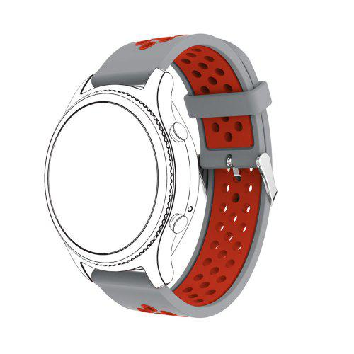 feae51a785b28a 20MM Silicone Watch Band Wrist Strap for Huawei Watch 2 Sport Bracelet    Gearbest