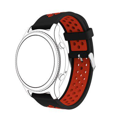 22MM Silicone Watch Band Wrist Strap for Pebble Time Bracelet