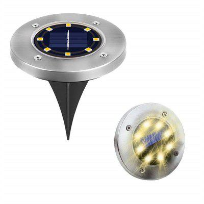 8 LED zonne-energie Lamp Outdoor Lawn Light 1PC
