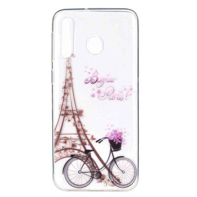Tower Bicycle Painting Phone Case for Xiaomi Redmi 7