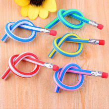 Gearbest Colorful Magic Bendy Flexible Soft Pencil with Eraser 10pcs