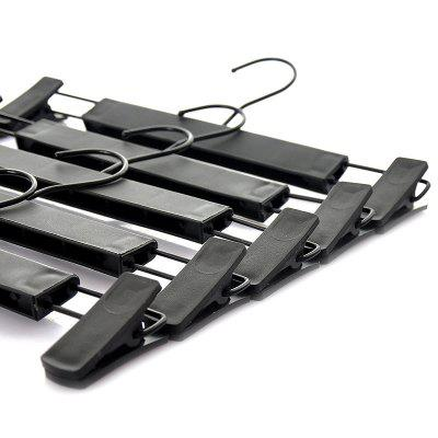 Skid Resistance Plastic Extension-Type Trousers Rack 5PCS