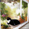 Kreativní Pet Cat Window Perches - GOLDENROD