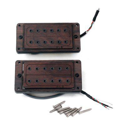 Rose Wood Electric Guitar Humbucker Pickup 2 PCS