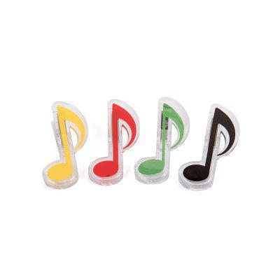 Music Symbol Stationery Clip 4 Pcs