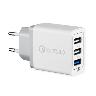 Chargeur mural 3 Quick Charge 3.0 USB Plug Adaptateur de charge rapide
