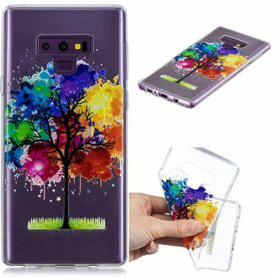 Rainbow Tree Pattern Soft TPU Case for SAMSUNG NOTE 9