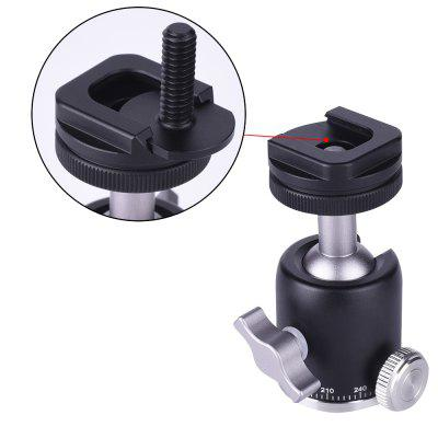 Tripod Mini Ball Head Tripod Mount Head-Metal Ballhead for DSLR Camera