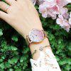 MEGIR 4215 Fashion Gradient Dial West Tiecheng Steel Movement with Quartz Watch - PINK