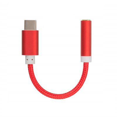 Cable Adaptador de Audio Minismile USB Tipo-C a Jack de 3.5mm
