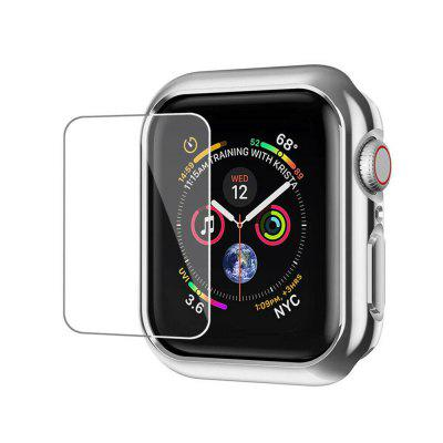 Bumper Hard Case Cover + Screen Protector Film For iWatch Series 1 2 42MM
