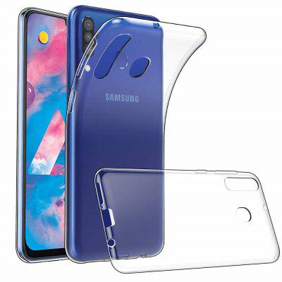 Soft TPU Transparent Protector Case Cover for Samsung Galaxy M30