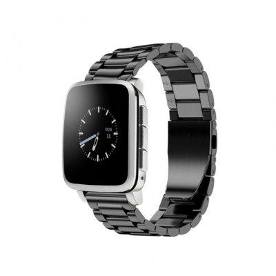 Stainless Steel Watch Band Wrist Strap for Pebble Time Steel Bracelet