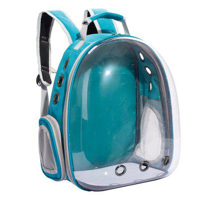 Breathable Transparent Space Capsule Pet Cat Puppy Travel Space Backpack Carrier