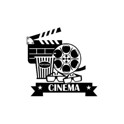 Creative Film Camera Sticker Background Wall Decoration for Home Bedroom