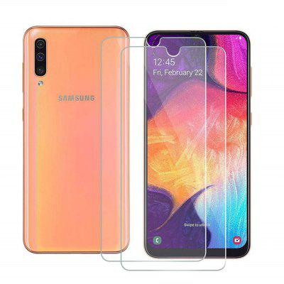 Tempered Glass Screen Protective Case for Samsung Galaxy A50 2pcs