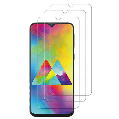 Tempered Glass Screen Protective Case for Samsung Galaxy M20 3pcs