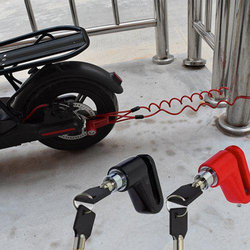 Convenience 2019 Creative Anti-Theft Lock Electric Car Portable Steel Cable Lock Bicycle Accessory Practical